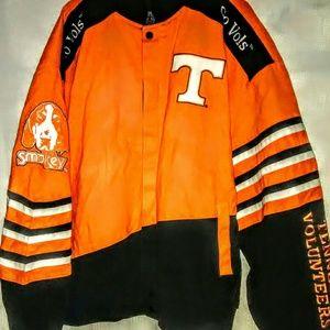NWT!  Tennessee Vols Leathermen Jacket Size XL